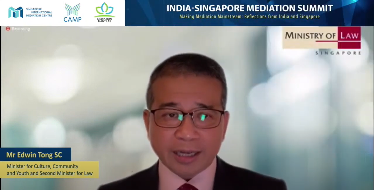 Mr. EDWIN TONG: SIMC-CAMP JOINT COVID-19 PROTOCOL